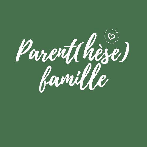 Logo Parent(hèse) famille